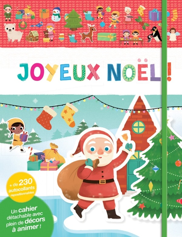 MES TOUT PREMIERS AUTOCOLLANTS - JOYEUX NOEL !