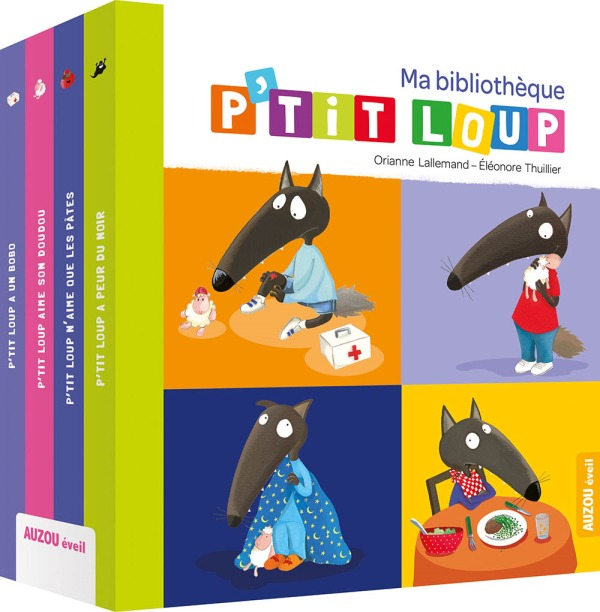 BIBLIOTHEQUE P'TIT LOUP N 1