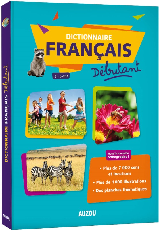 DICTIONNAIRE DE FRANCAIS DEBUTANT GRAND FORMAT