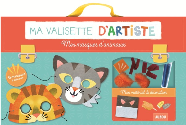 MES MASQUES D'ANIMAUX (COLL. MA VALISETTE D'ARTISTE)