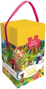 MON PUZZLE DES CONTES DU MONDE (COLL. BOITE PUZZLE) - 1 PUZZLE DE 54 PIECES