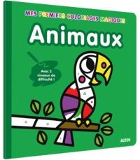 COLORIAGES MAGIQUES ANIMAUX (COLL. MES PREMIERS COLORIAGES) - AVEC 5 NIVEAUX DE DIFFICULTE !