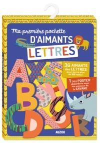MA PREMIERE POCHETTE D'AIMANTS LETTRES