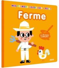 MES PREMIERS COLORIAGES - POINTS A RELIER - LA FERME - AVEC 3 NIVEAUX DE DIFFICULTE !
