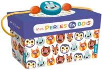 MES PERLES EN BOIS - MES ANIMAUX DE LA FORET - 60 PERLES EN BOIS