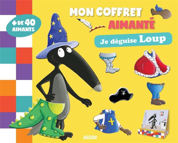 MON COFFRET MAGNETIQUE - JE DEGUISE LOUP