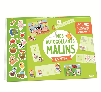 MES AUTOCOLLANTS MALINS - LA FERME