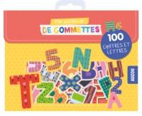 MA POCHETTE DE GOMMETTES - 100 LETTRES ET CHIFFRES