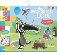MA POCHETTE D'AUTOCOLLANTS LOUP - C'EST LA FETE - PLUS DE 140 AUTOCOLLANTS !