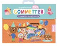 MA POCHETTE DE 100 GOMMETTES D'ANNIVERSAIRE
