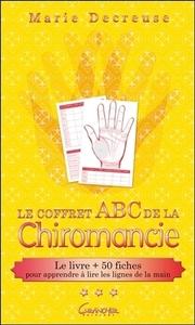 LE COFFRET ABC DE LA CHIROMANCIE - LE LIVRE + 50 FICHES POUR APPRENDRE A LIRE LES LIGNES DE LA MAIN