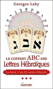 LE COFFRET ABC DES LETTRES HEBRAIQUES - LE LIVRE + LES 22 CARTES D'OTIYOTH