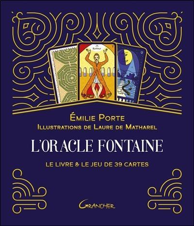 L'ORACLE FONTAINE - LE LIVRE & LE JEU DE 39 CARTES - COFFRET
