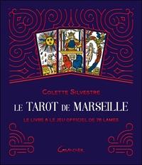 LE TAROT DE MARSEILLE - COFFRET - LE LIVRE & LE JEU OFFICIEL DE 78 LAMES