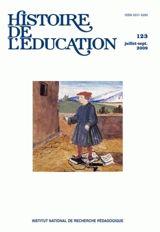 HISTOIRE DE L'EDUCATION, N  123/2009