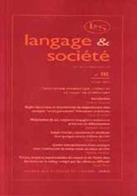 LANGAGE ET SOCIETE, N  111/MARS 2005