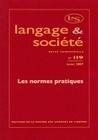 LANGAGE ET SOCIETE, N 119/MARS 2007. LES NORMES PRATIQUES