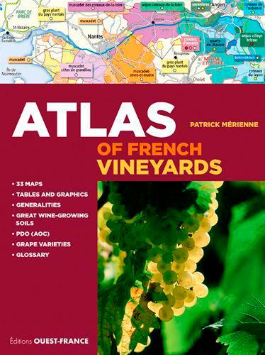 ATLAS DES VIGNOBLES DE FRANCE (GB)