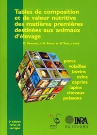 TABLES DE COMPOSITION ET DE VALEUR NUTRITIVE DES MATIERES PREMIERES DESTINEES AUX ANIMAUX D'ELEVAGE
