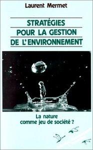 Stratégies pour la gestion de l'environnement