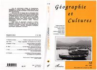 Géographie et cultures n°18