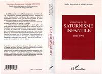 Chroniques du saturnisme infantile 1989-1994