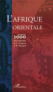 L'AFRIQUE ORIENTALE - ANNUAIRE 2000