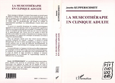 LA MUSICOTHERAPIE EN CLINIQUE ADULTE