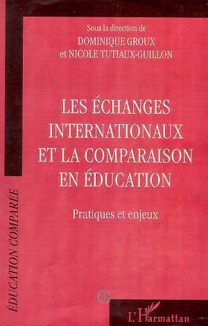 ECHANGES INTERNATIONAUX ET LA COMPARAISON EN EDUCATION