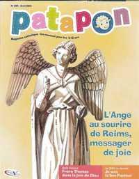 L'ANGE AU SOURIRE DE REIMS, MESSAGER DE JOIE - REVUE PATAPON AVRIL 2013 N 395