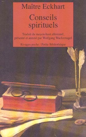 CONSEILS SPIRITUELS