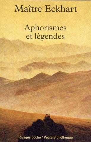 APHORISMES ET LEGENDES