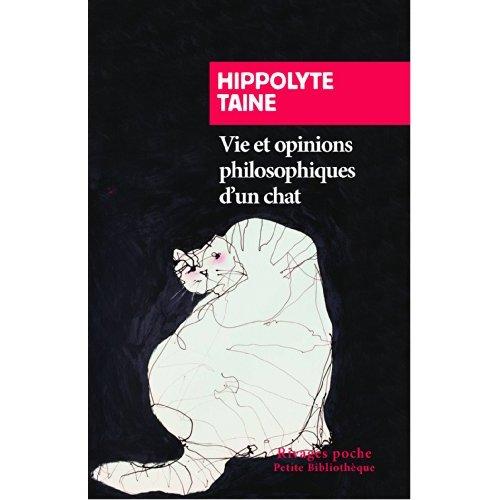 VIE ET OPINIONS PHILOSOPHIQUES D'UN CHAT (NE) - RP N 601