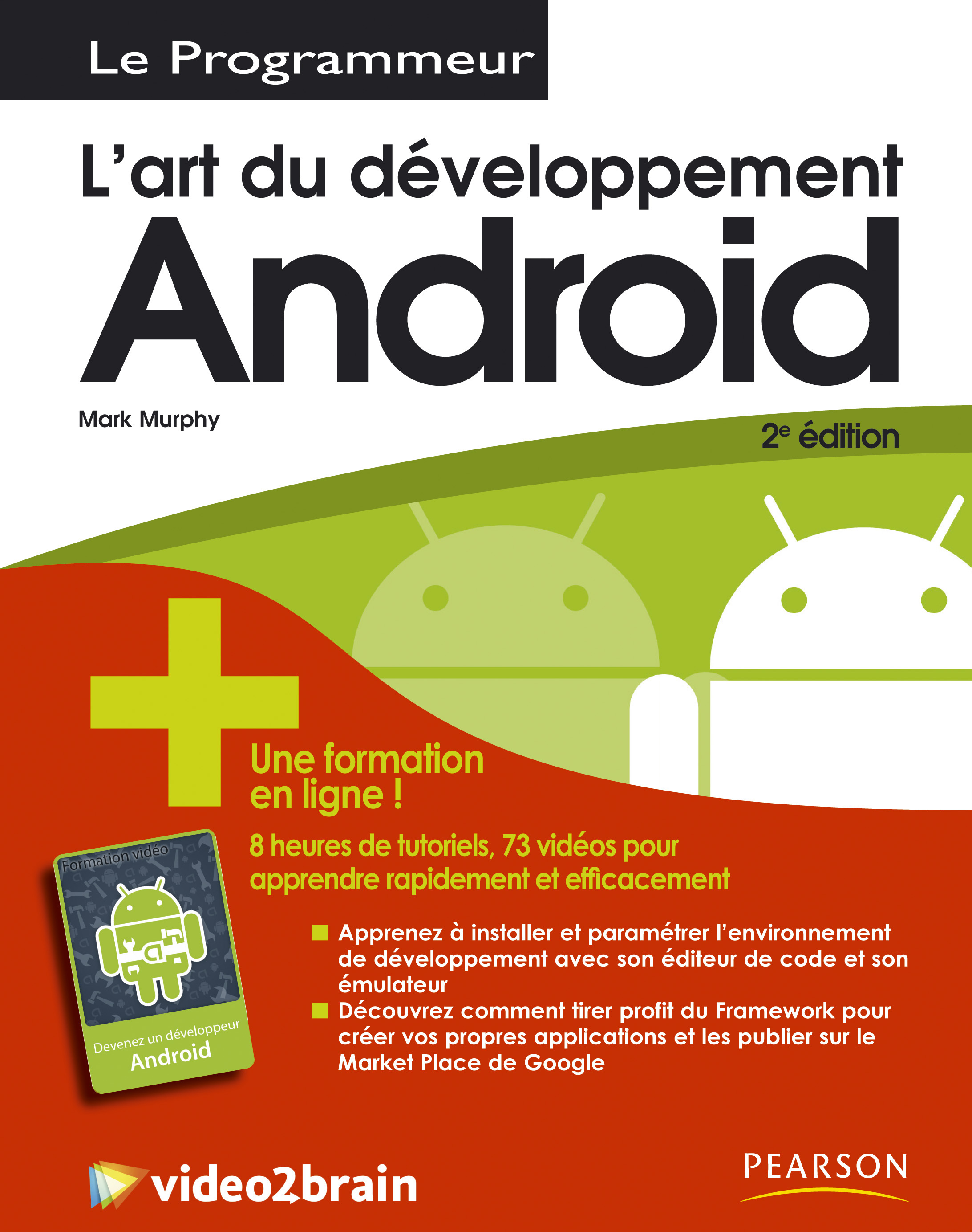 PROGRAMMEUR ANDROID 2 + FORMATION EN LIGNE VIDEO 2 BRAIN ANDROID