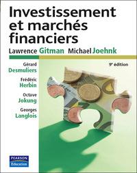 PRINCIPE D'INVESTISSEMENT FINANCIER 9E ED