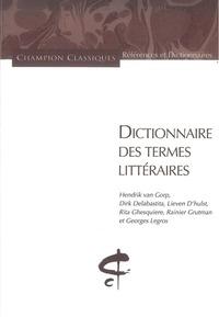 DICTIONNAIRE DES TERMES LITTERAIRES