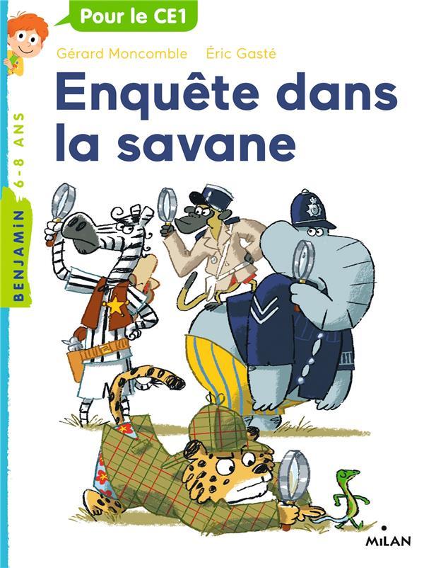 Gaspard le leopard, tome 11 - enquete dans la savane