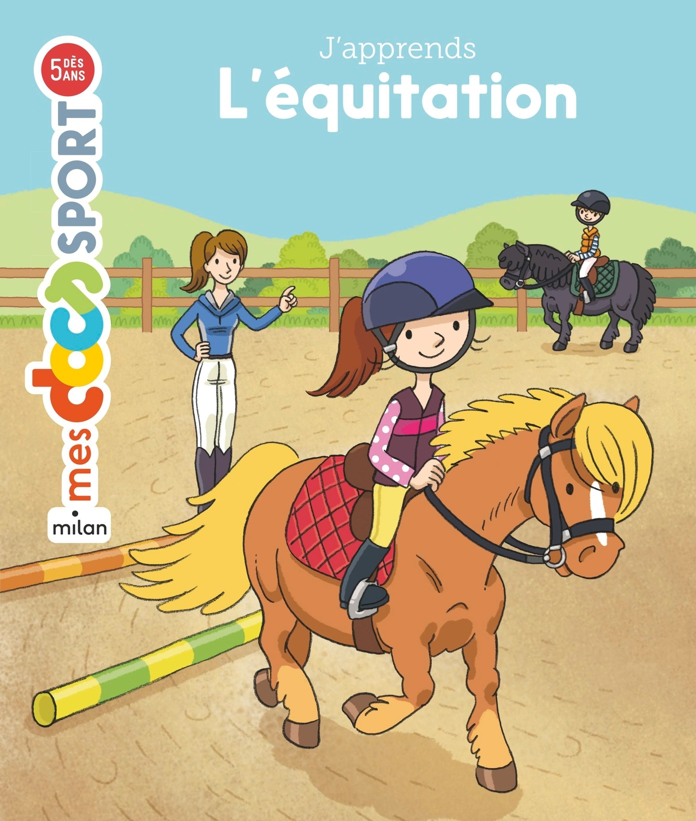 J'APPRENDS L'EQUITATION