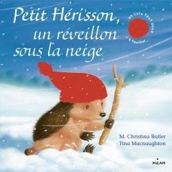 PETIT HERISSON UN REVEILLON SOUS LA NEIGE (TOUT CARTON)