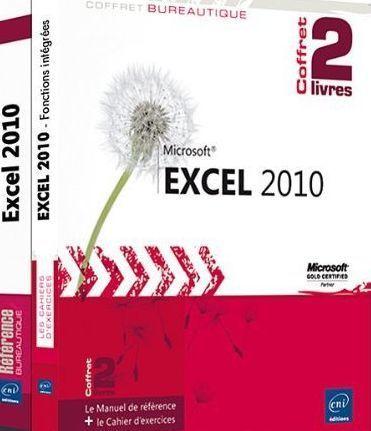 EXCEL 2010 - COFFRET DE 2 LIVRES : LE MANUEL DE REFERENCE + LE CAHIER D'EXERCICES