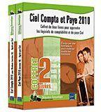 CIEL COMPTA ET PAYE 2010 : COFFRET DE DEUX LIVRES POUR APPRENDRE LES LOGICIELS DE COMPTABILITE ET DE