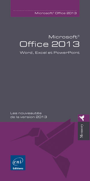 MICROSOFT  OFFICE 2013 - WORD, EXCEL ET POWERPOINT