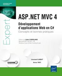 ASP.NET MVC 4 : DEVELOPPEMENT D'APPLICATIONS WEB EN C# : CONCEPTS ET BONNES PRATIQUES