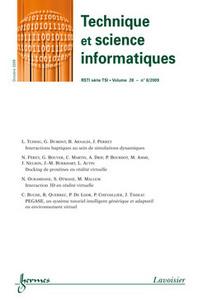 TECHNIQUE ET SCIENCE INFORMATIQUES RSTI SERIE TSI VOL. 28 N. 8/OCTOBRE 2009