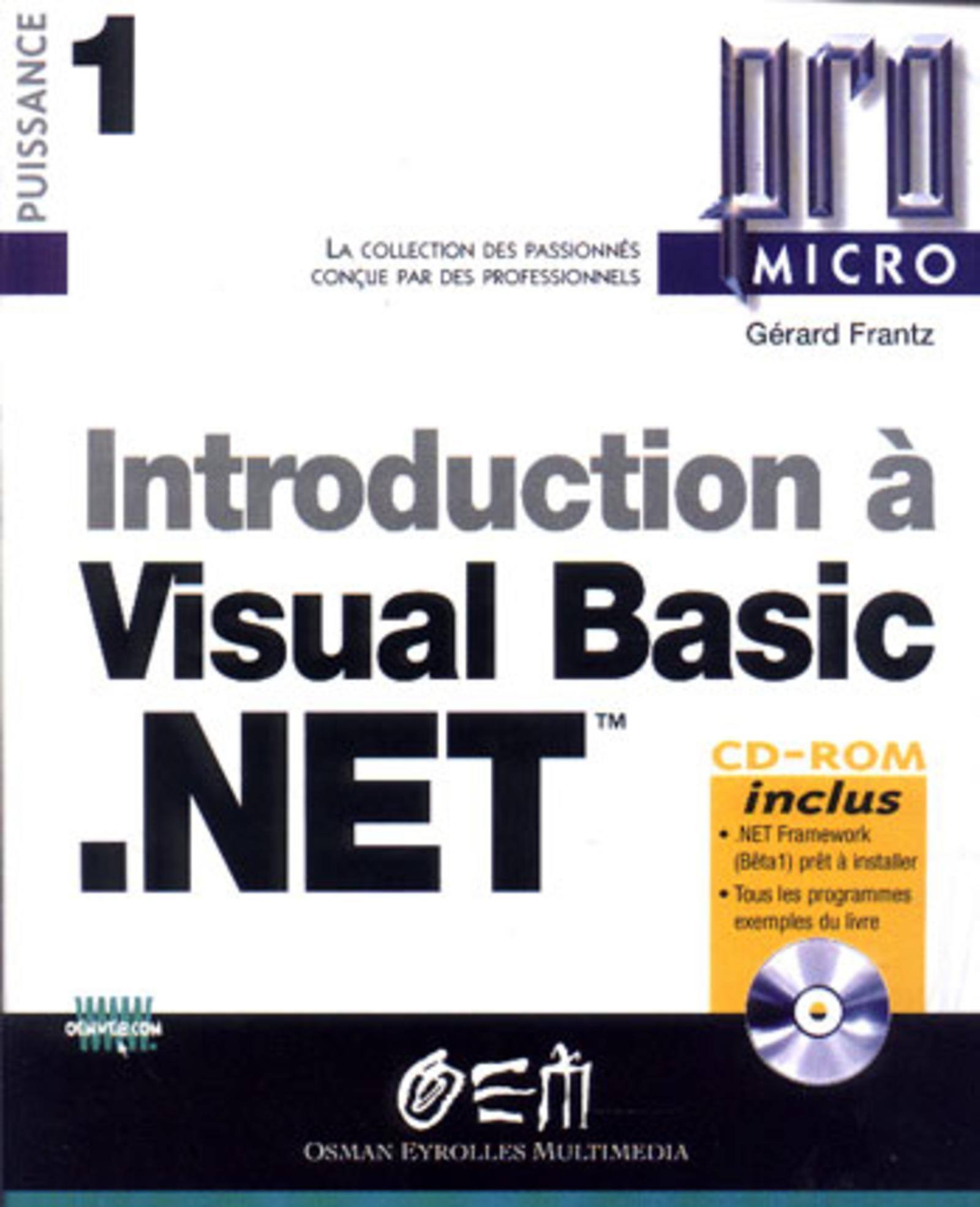 INTRODUCTION A VB.NET