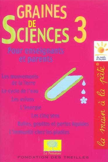 GRAINES DE SCIENCES 3