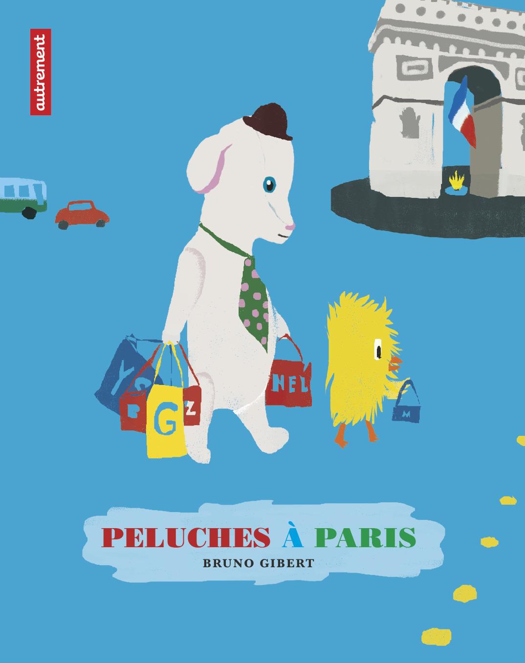 Peluches à Paris