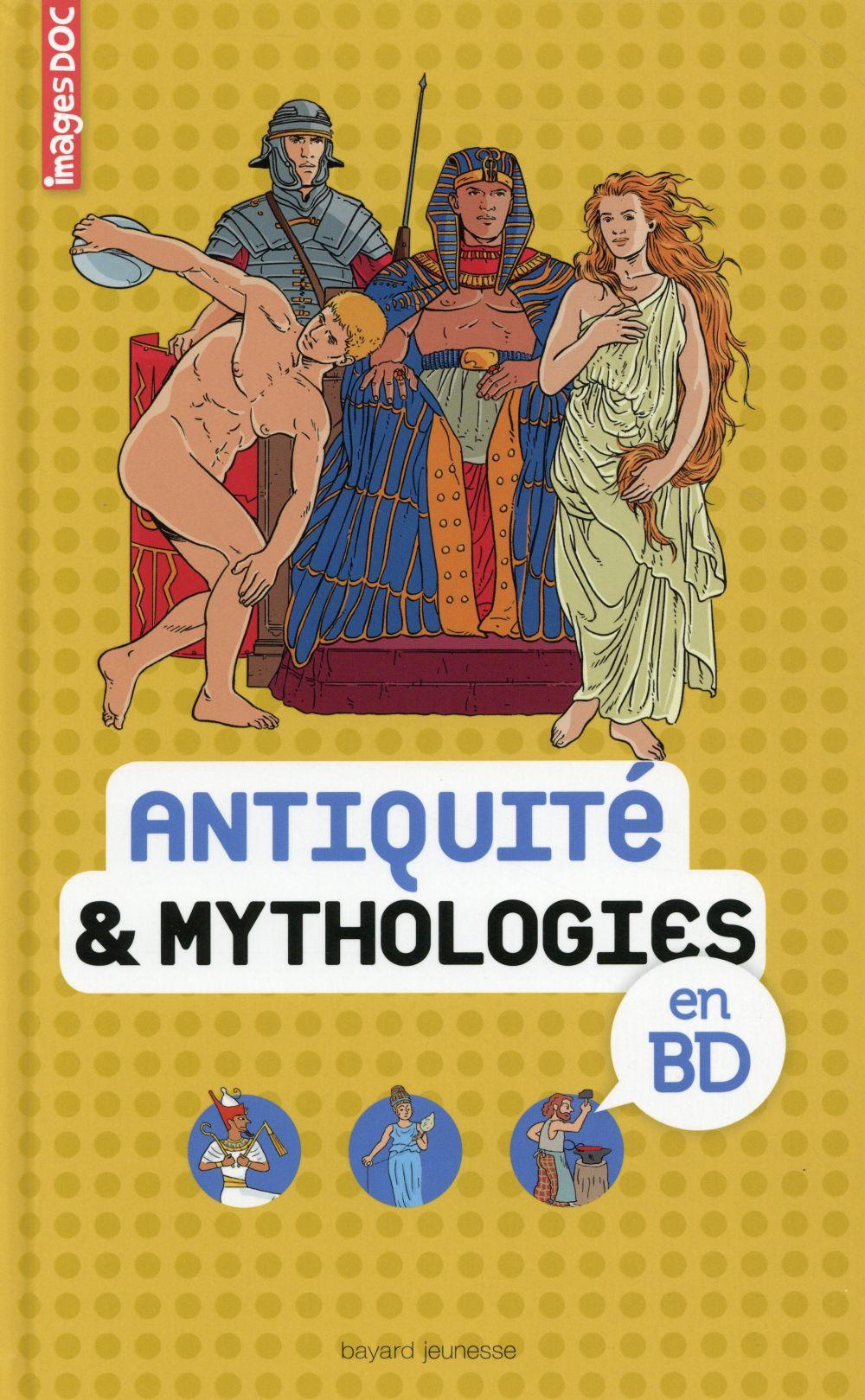ANTIQUITE ET MYTHOLOGIES EN BD