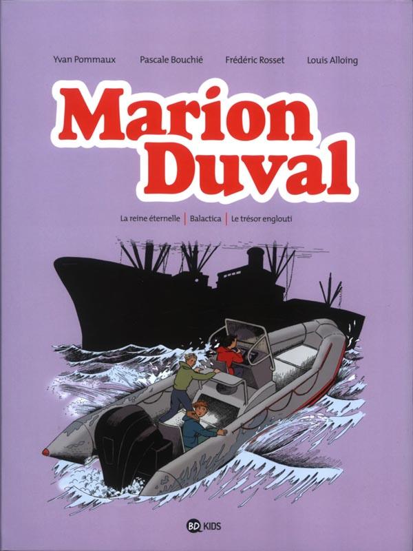 Marion duval integrale, tome 08 - la reine eternelle - balactica - le tresor englouti