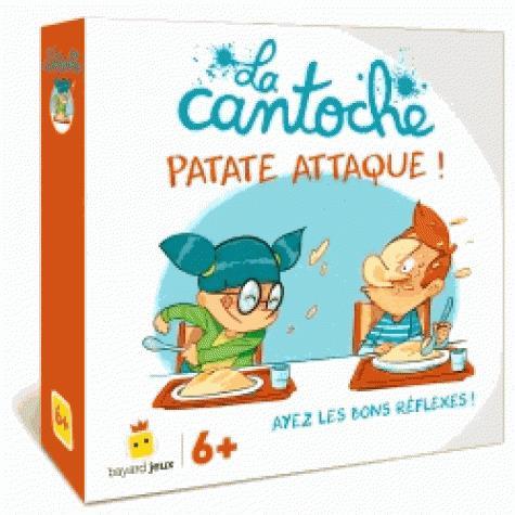 Jeu la cantoche - patate attaque !
